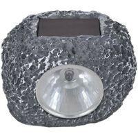 Outdoor Solar Powered LED Spotlight Stone SHommoo 12 pcs VD26378