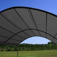 Hommoo Sunshade Awning 3x4 m Anthracite VD46217