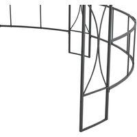 Hommoo Gazebo 300x290 cm Anthracite Round VD46279