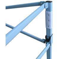 Hommoo Folding Gazebo with 2 Sidewalls 5x5 m Cream VD46766