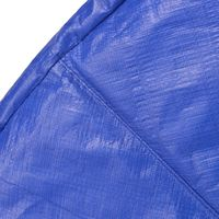 Hommoo Safety Pad PE Blue for 10 Feet/3.05 m Round Trampoline VD04295