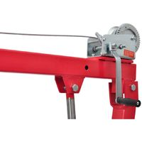 Truck Pick-up Crane with Cable & Winch