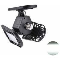 Hommoo 3 Piece LED Adjustable Three Light Garage Lamp High Bay Light 60W LLDDE-ZO0197402X3