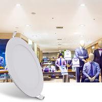 Hommoo 2 Piece 6W 9W 12W 15W 18W LED Recessed Ceiling Panel Down Lights Bulb Slim Lamp LLDDE-MC0014818X2