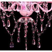 Pink Crystal Light 5 Bulb QAH08155