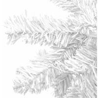 Hommoo Artificial Christmas Tree L 240 cm White QAH10353
