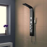 Deluxe Black Dream Shower Panel
