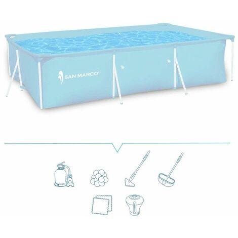 Piscina fuori terra San Marco Frame 300x200x75 cm > kit piscina base