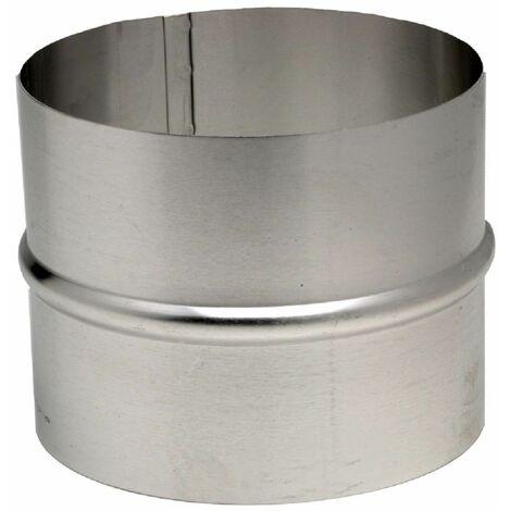 Raccord en aluminium pour gaine accordéon diamètre intérieur 125mm 454125