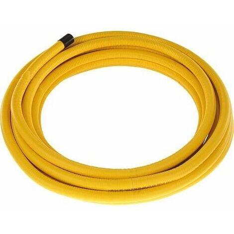 Flexible ondulé gaz DN20 (3/4) 75m sur bobine en bois