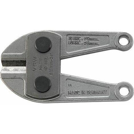 Tete de coupe de rechange VBW convient pour coupe-boulons 980LC-T