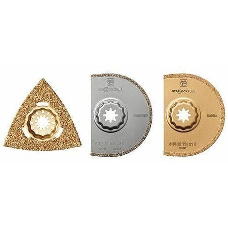 Set d'Accessoire Best of Tileworking FEIN, 3 accessoires, Starlock Plus