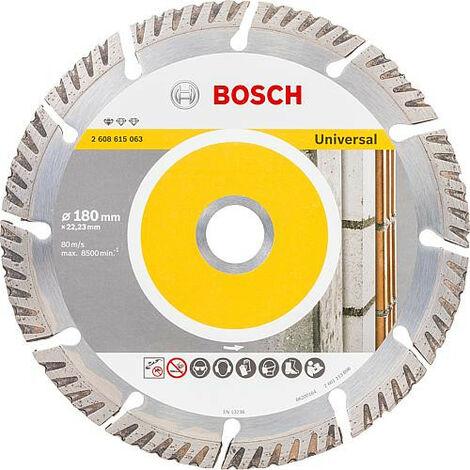 Disque diamant BOSCH standard pour universel D : 180 x 22,23 x 2,4mm