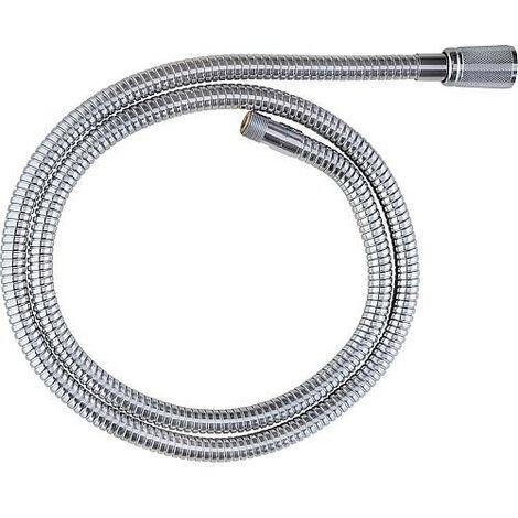 """Grohe flexible de douche metallique 1/2""""fil femx15x1fil male Longueur 1,5m pour robinetterie d evier chrome"""