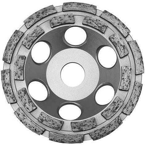 Disque diamant TECTOOL convient pour ponceuse beton TCG 125, diam. 125 mm pour beton, chape