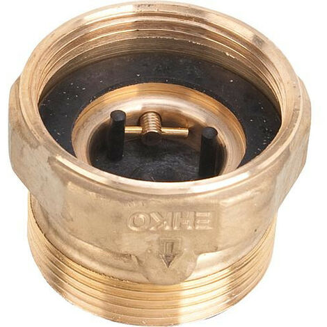 Clapet anti-thermosiphon DN25xDN40 avec passage d'air automatique réglable - vissable sur circulateur