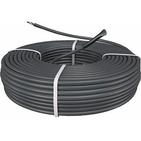 Cable pour chauffage au sol pour béton et chape   1250 W / Longueur : 73 m - 10 m