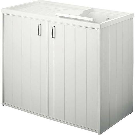 Bac à laver avec meuble 2 portes