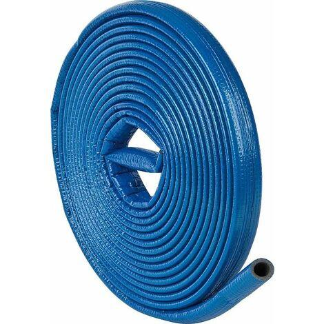 Gaine isolante robuste 12/15 x 4mm, Longueur: 10m PE-XT avec protection bleu