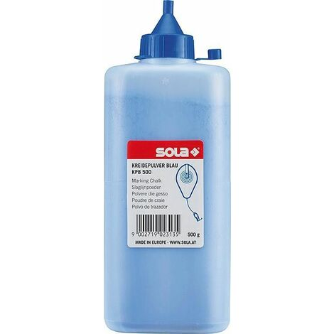 Peinture marquage au sol Sola bleu 500g
