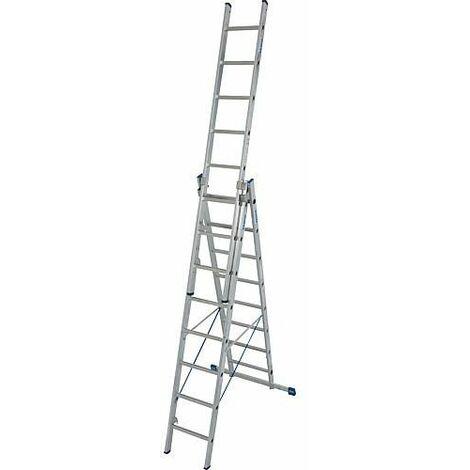 Echelle pliante KRAUSE STABILO 3x8 echelons avec fonction en escalier