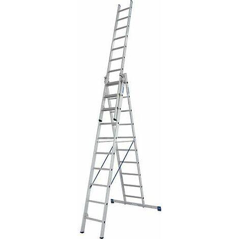 Echelle pliante KRAUSE STABILO 3x10 echelons avec fonction escalier