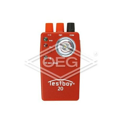 Contrôleur de passage Testboy 20 4,5V, tension fixe jusqu'à 400V