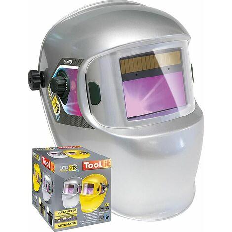 casque de protection soudure LCD Promax 9/13G, argent