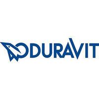 Abattant WC Duravit Starck 3 Softclose, blanc, avec charniere inox lxhxp: 380x30x383 mm
