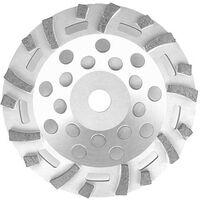 Disque diamant TECTOOL convient pour ponceuse beton TCG 125 diam. 125 mm pour peinture et colle