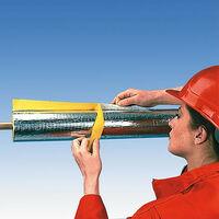 EnEV-Coque de tube-Alu diam. 76 mm / 80 mm 2 m / carton