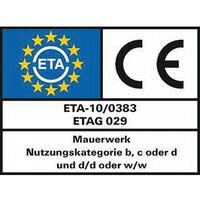Chevilles a frapper EA II M 12 D emballage 25
