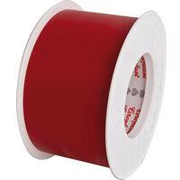 Rubant isolant pour l'electricite rouge largeur 50 mm longueur 25 metres