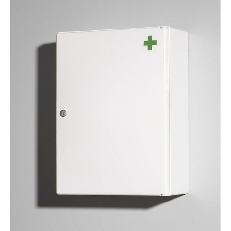 Armoire à pharmacie - 42 cm x 31,5 cm (HxL) - Blanc