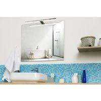 Spot de salle de bains avec éclairage LED - Chrome - 5,2 cm x 50 cm (HxL) - Chrome