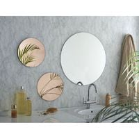 Miroir Décoratif Design - Les tendances - Argent / Rose