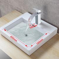 WOOHSE Elegante grifo monomando lavabo grifo lavabo lavabo grifo lavabo agua grifo grifo mezclador baño grifo lavabo