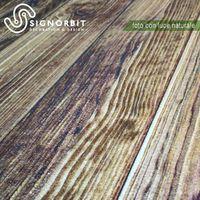 NOCE pannello finto legno in EPS resinato listello misura 100x25 cm. Pezzi 4 totale 1 mq