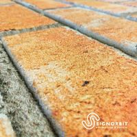 MATTONCINO BAKERY pannello finto mattone in EPS Resinato Misura 100x50 Cm spessore 2 cm | 01 Pz