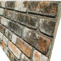 URBAN BRICK pannello finto mattone In EPS Resinato Misura 100x50 Cm Spessore 2 Cm