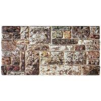 FIORENTINA Stone - Pannello finta Pietra in EPS Resinato Misura 100x50 cm Spessore 2 Cm