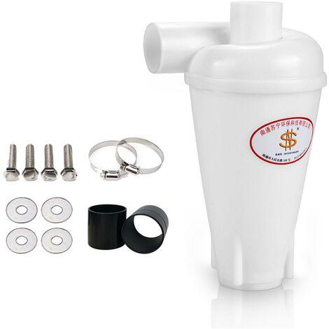 Filtre de collecteur de poussière de cyclone pour des aspirateurs en plastique SN50T3 - Blanc