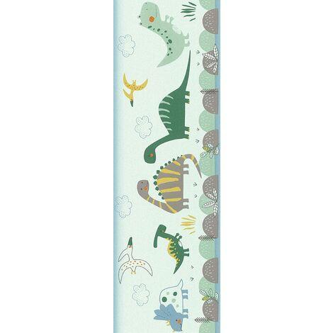 Rasch Dinosaur Wallpaper Border - Green - 248852