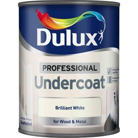 Dulux 750ml - Professional Undercoat Pure Brilliant White