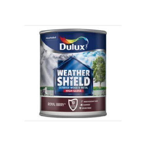 Dulux Weathershield Exterior Gloss 750ml Royal Berry