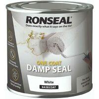 Ronseal One Coat Damp Seal - White 750ml