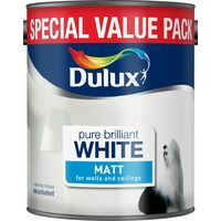 Dulux 3L - Matt Pure Brilliant White