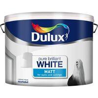 Dulux 10L - Matt Pure Brilliant White