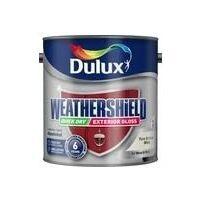Dulux Weathershield Exterior Gloss 750ml Black