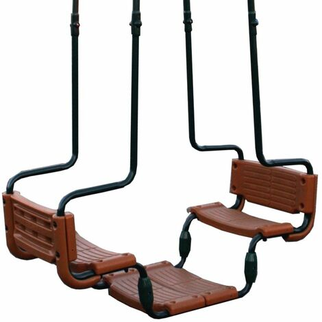 WICKEY Double Swing Seat Baboon for square swing beams